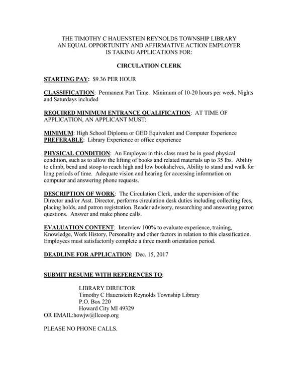 CIRCULATION CLERK POSTING_Page_1.jpeg
